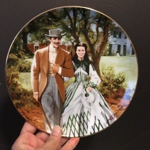 Other - 1989 Gone With The Wind China Collector Plate